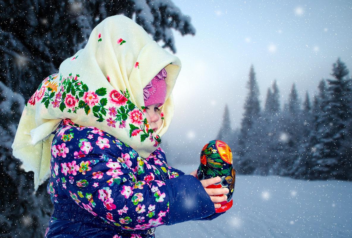 хорошо в лесу зимой... - Светлана Шаповалова