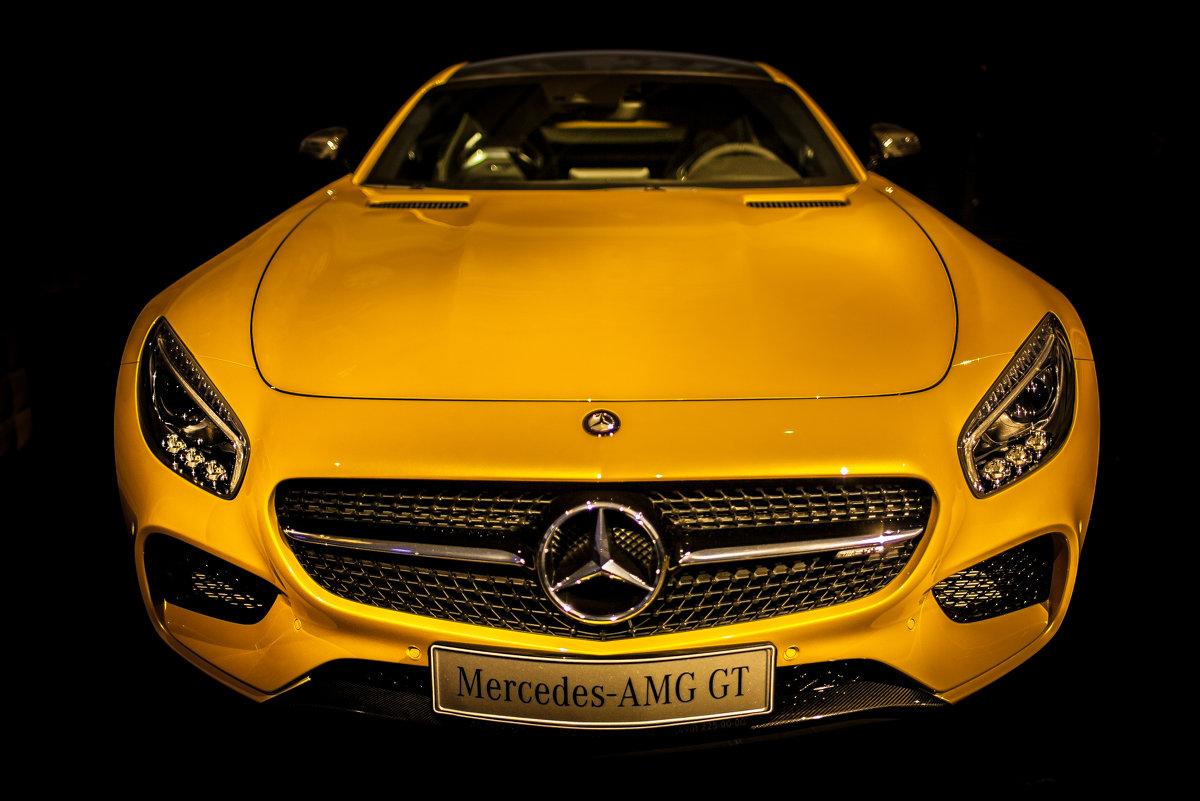 AMG GT Желтая) - Daniel Woloschin