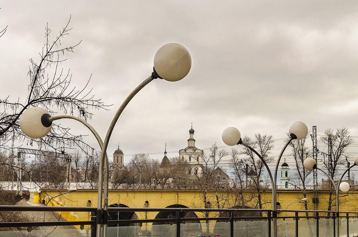 Вид на монастырь - Людмила Финкель