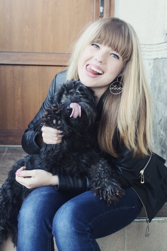 My litle, faforite dog - Yulia