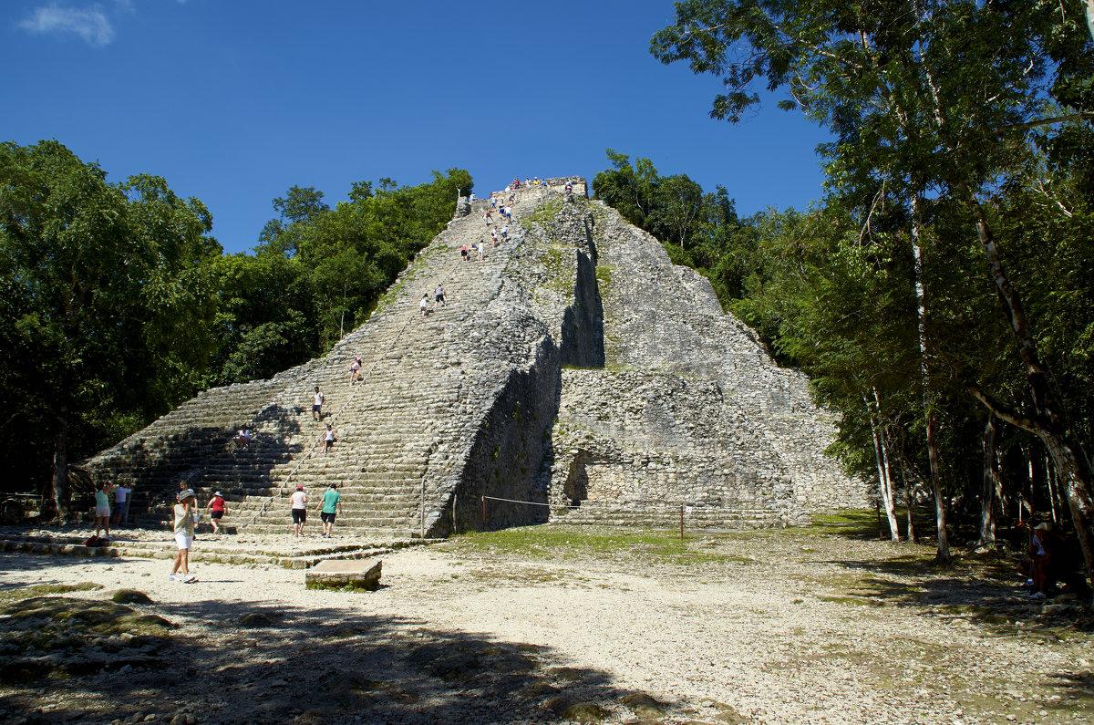 Пирамида в Коба, Мексика - Никита Пелевин