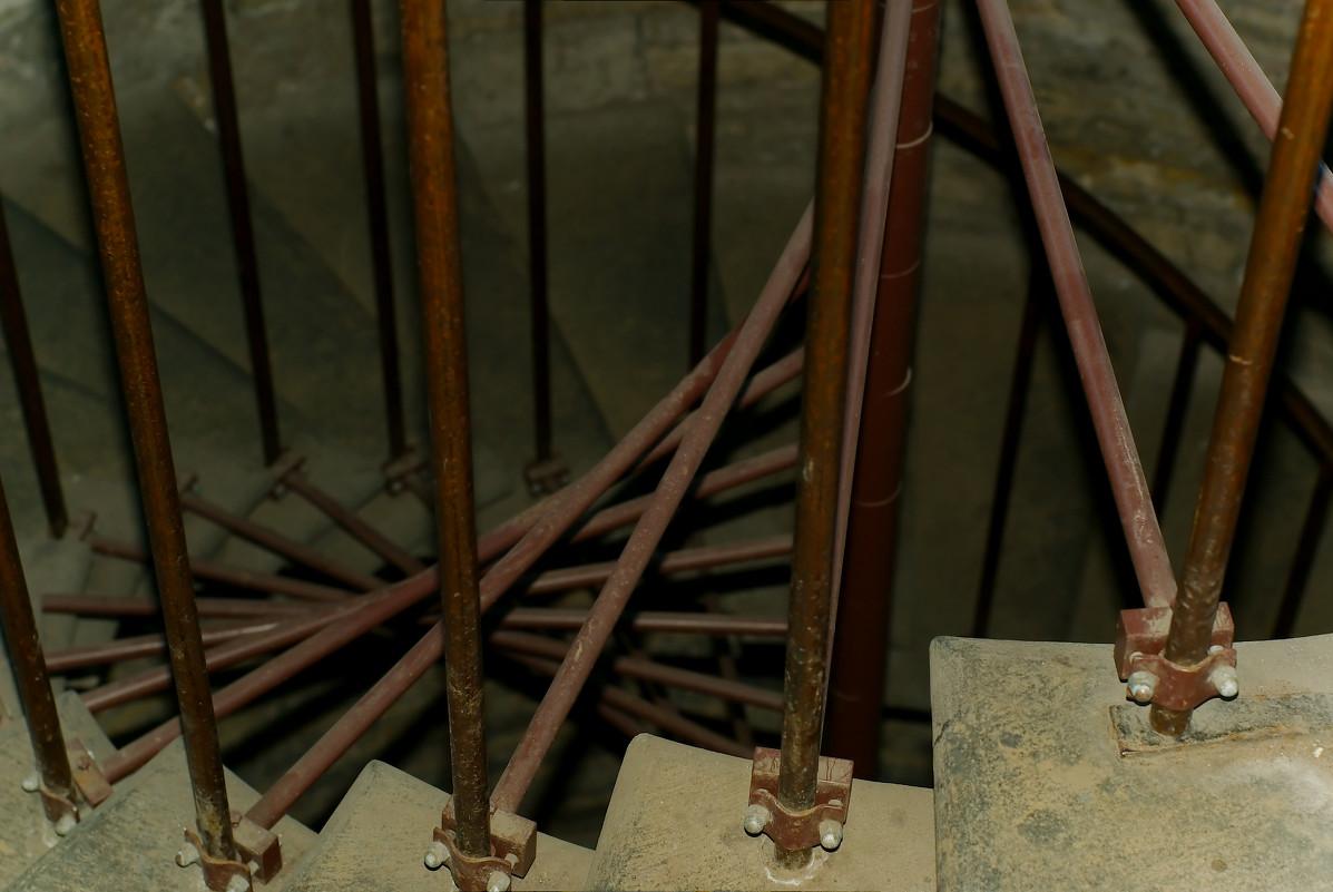 лестница колоннады Иссакиевского собора - Алексей Кудрявцев