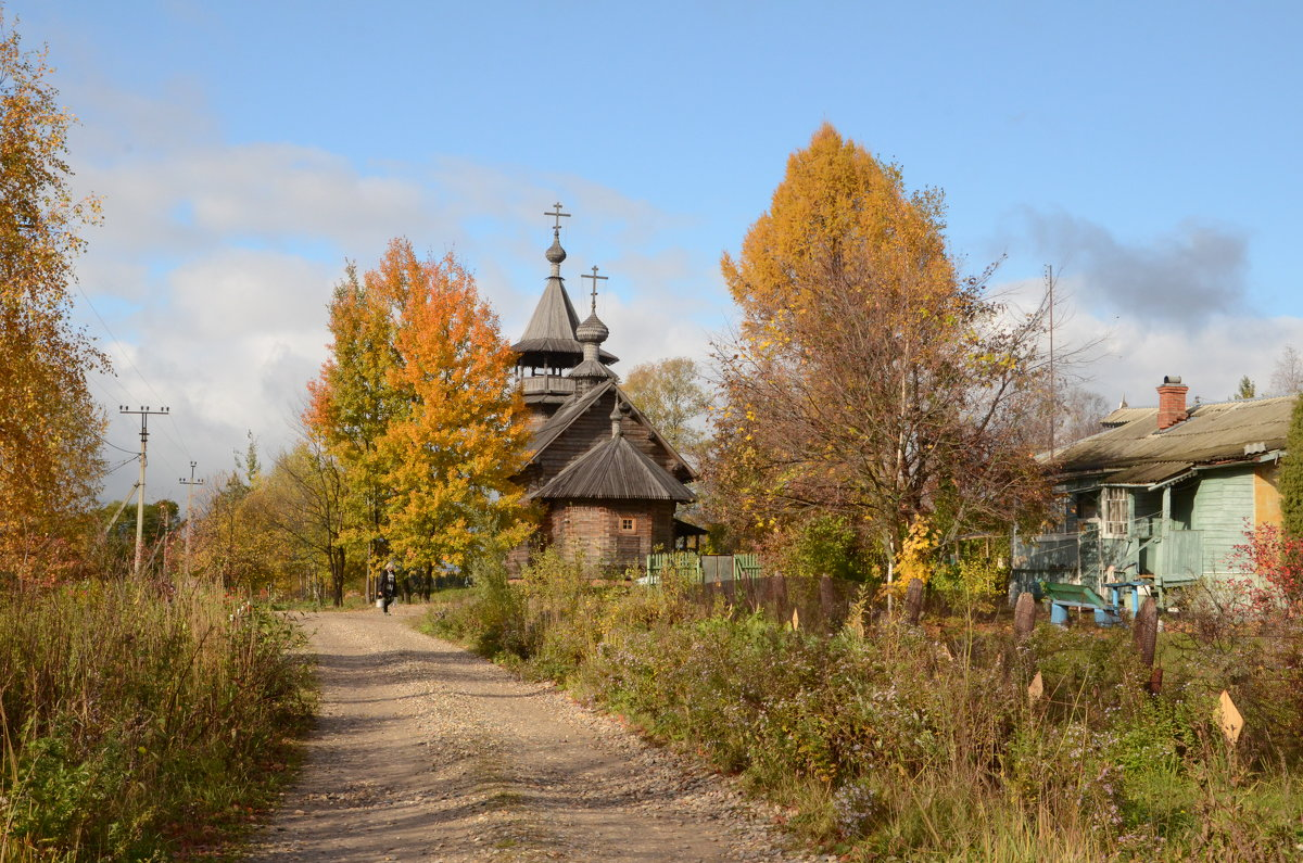Село Благовещенье. Церковь Благовещения Пресвятой Богородицы - demyanikita