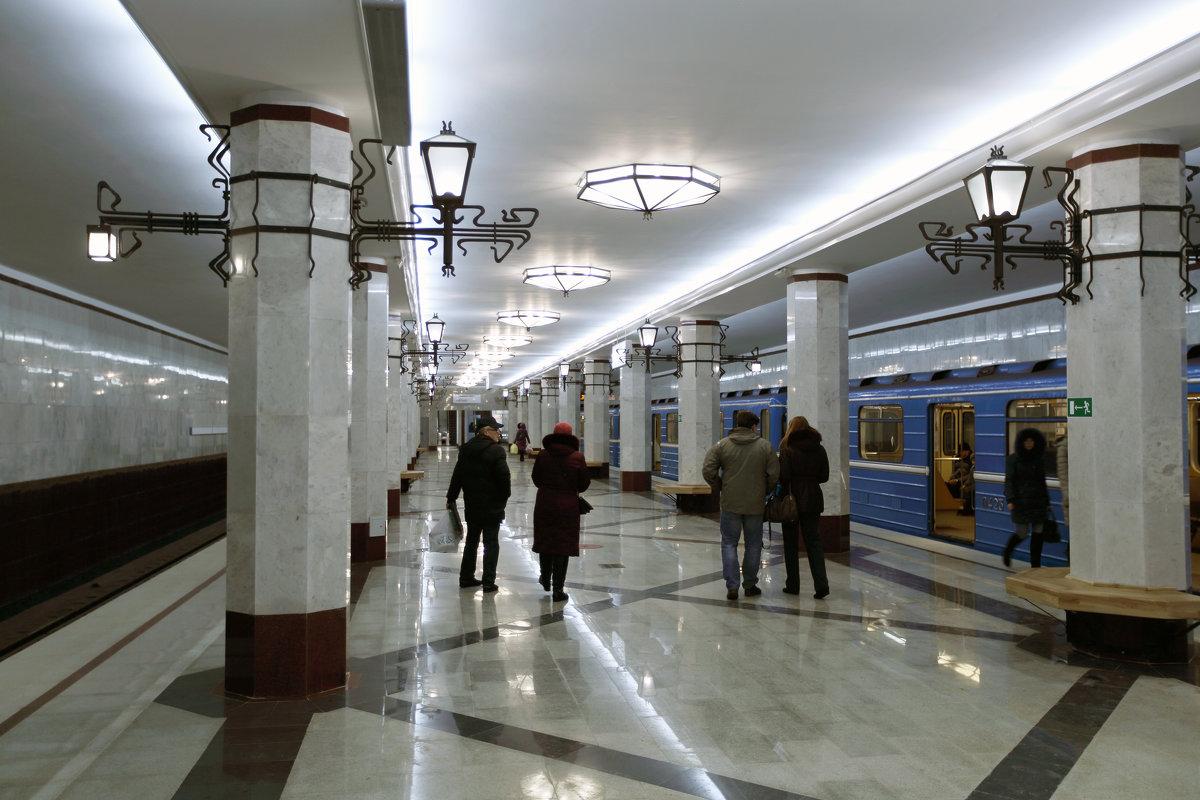 """Станция """"Алабинская"""" - Владимир Немцев"""