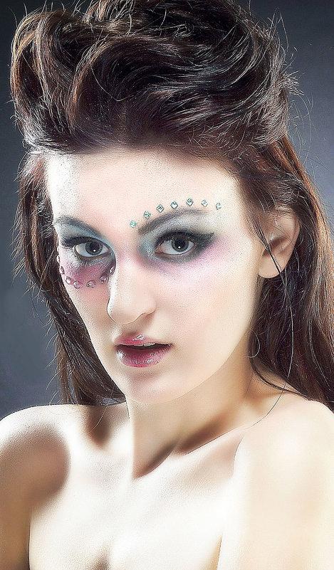 фейс арт макияж - Михаил Краев