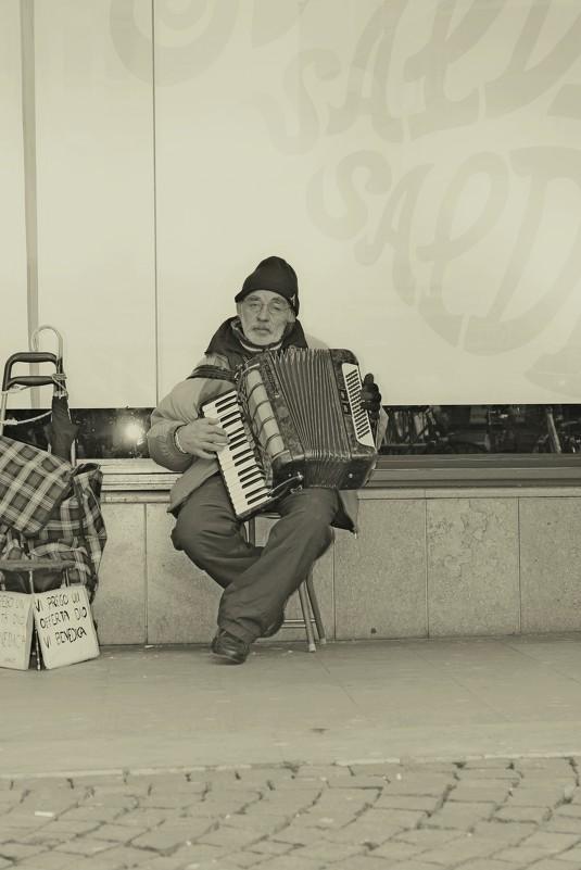 Уличный музыкант - Vadim Gaja