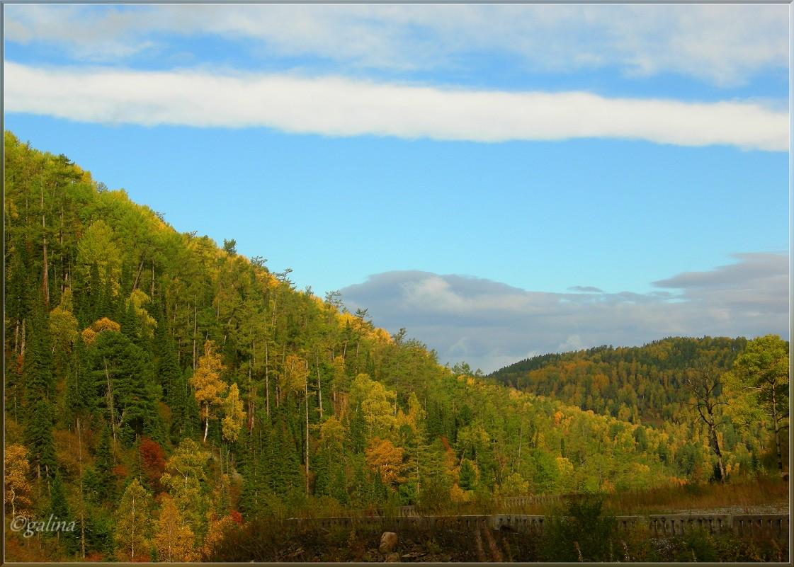 Осень в горах - galina tihonova