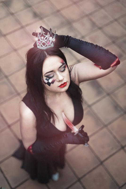 Макияж шахматная королева