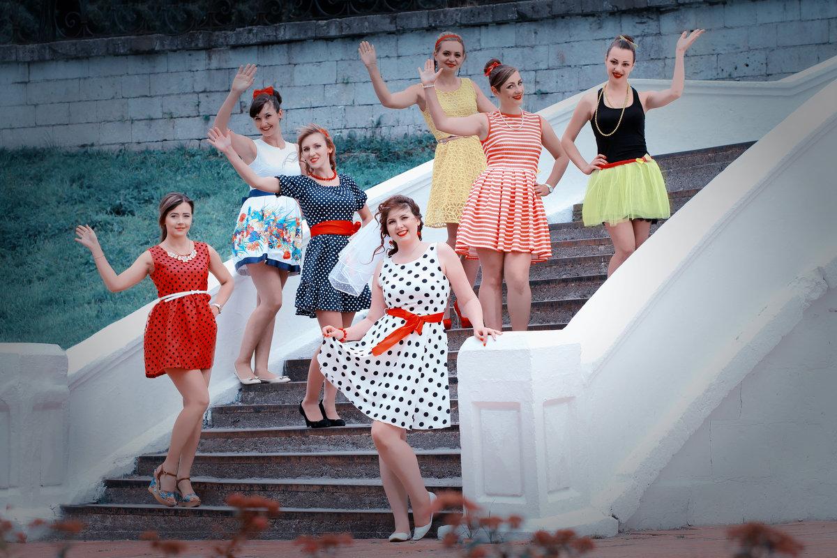 Конкурсы на девичник в стиле стиляг