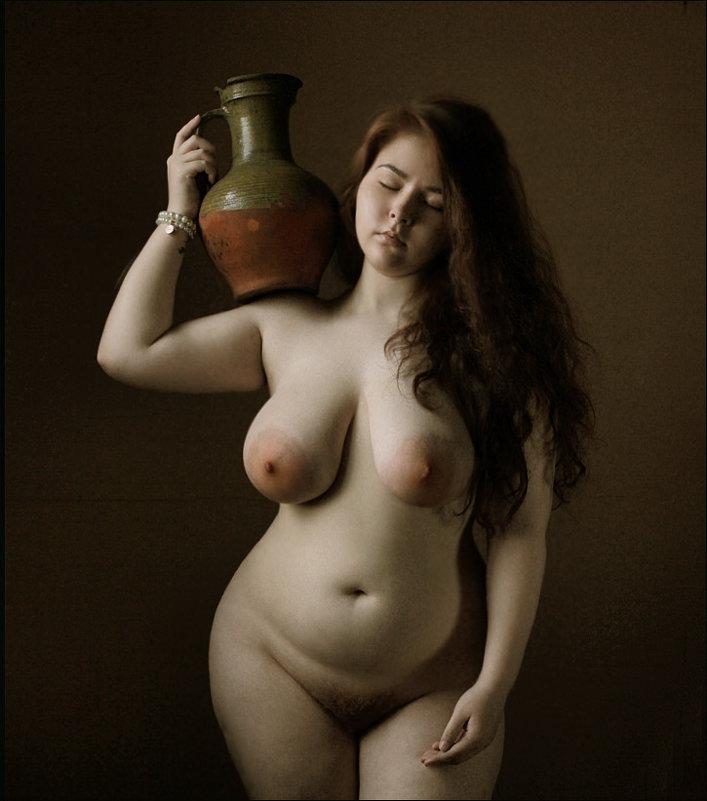 фото симпатичных толстушек в стиле ню