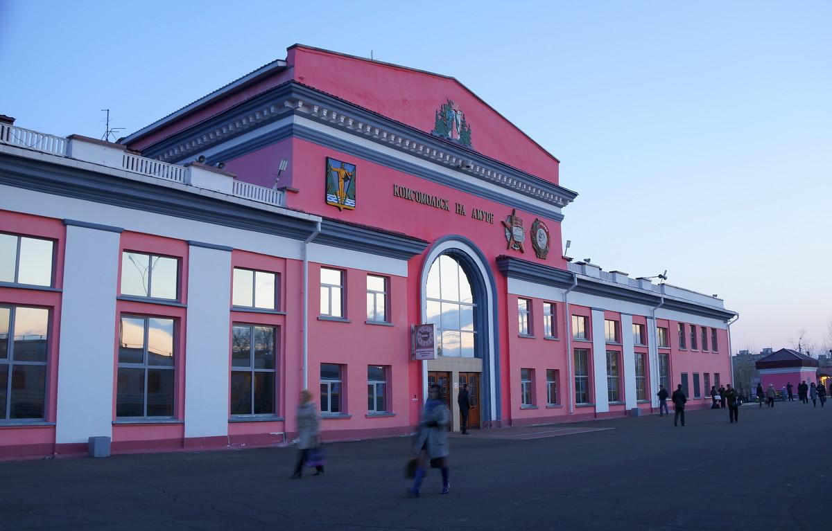 Комсач фонтан реконструкция жд вокзал комсомольск-на-амуре новости сегодня