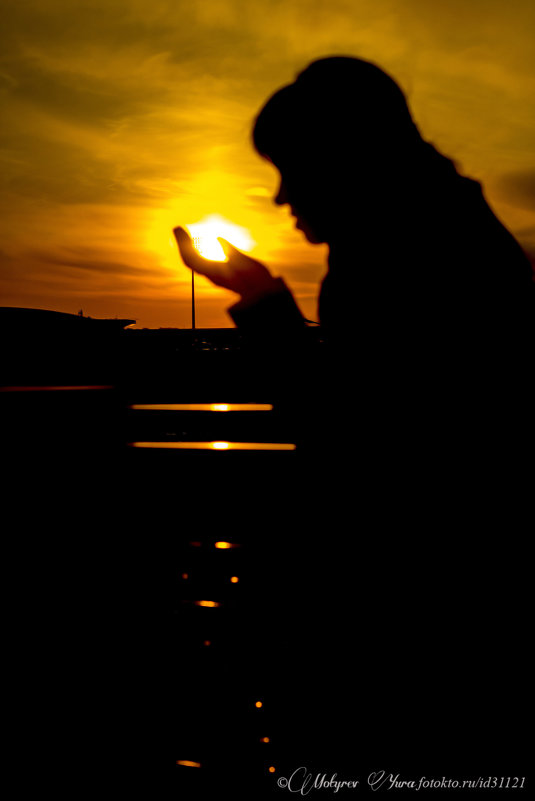 на закате - юрий мотырев