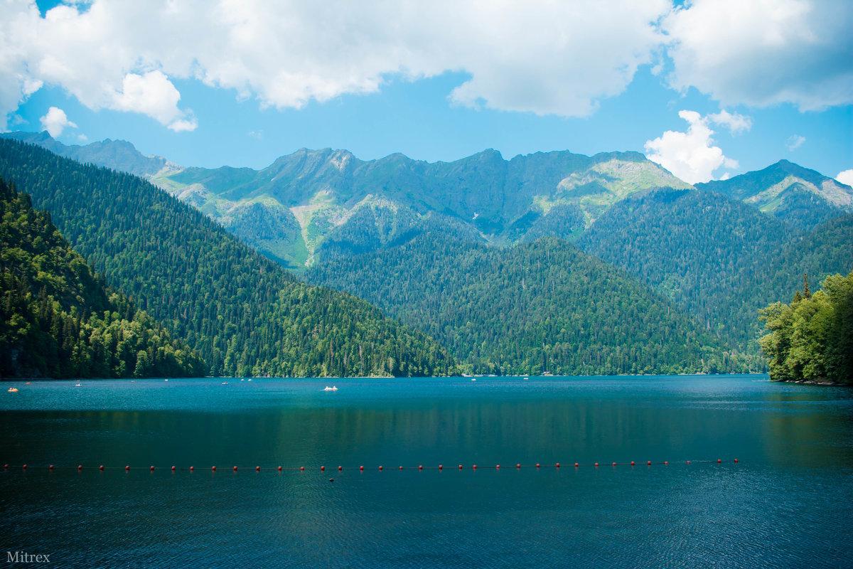 Озеро Рица - Mitrex .