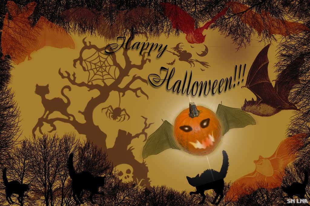 """Открытка """"Happy Halloween!!!"""" и краткое описание праздника - Наталья (ShadeNataly) Мельник"""