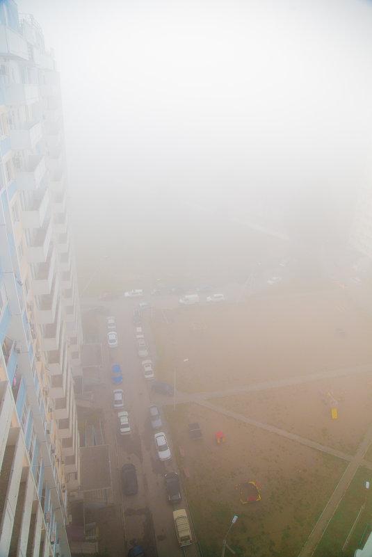 Утренний туман в Краснодаре (28.10.2015) - Таня Харитонова