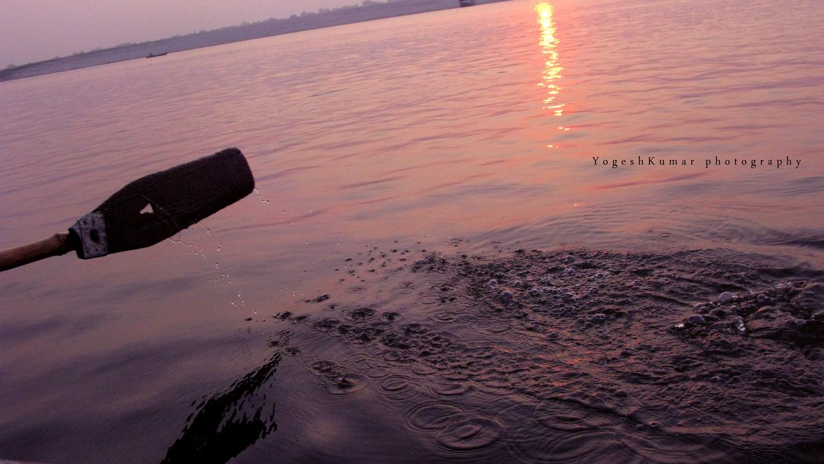 Varanasi, India - йогеш кумар