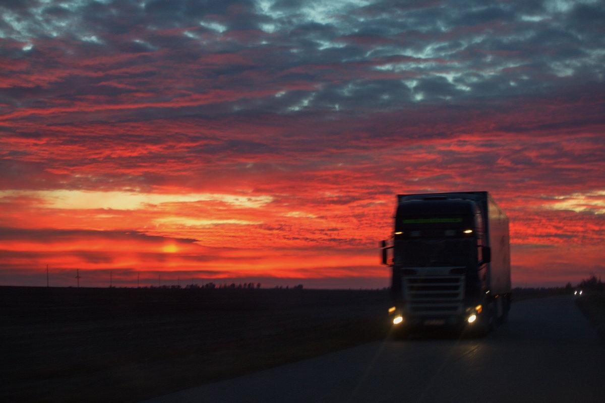 До дома ещё 200 км... (2) - Андрей Lyz