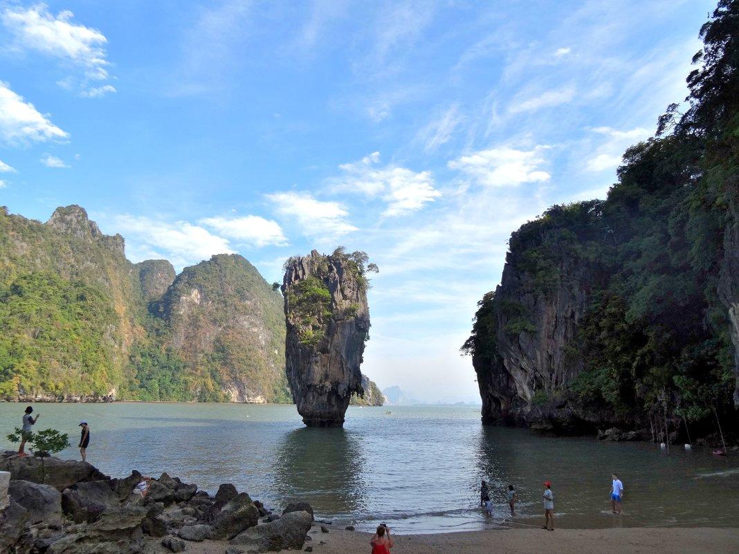 Остров Джеймса Бонда. ( Ко Тапу) - Чария Зоя