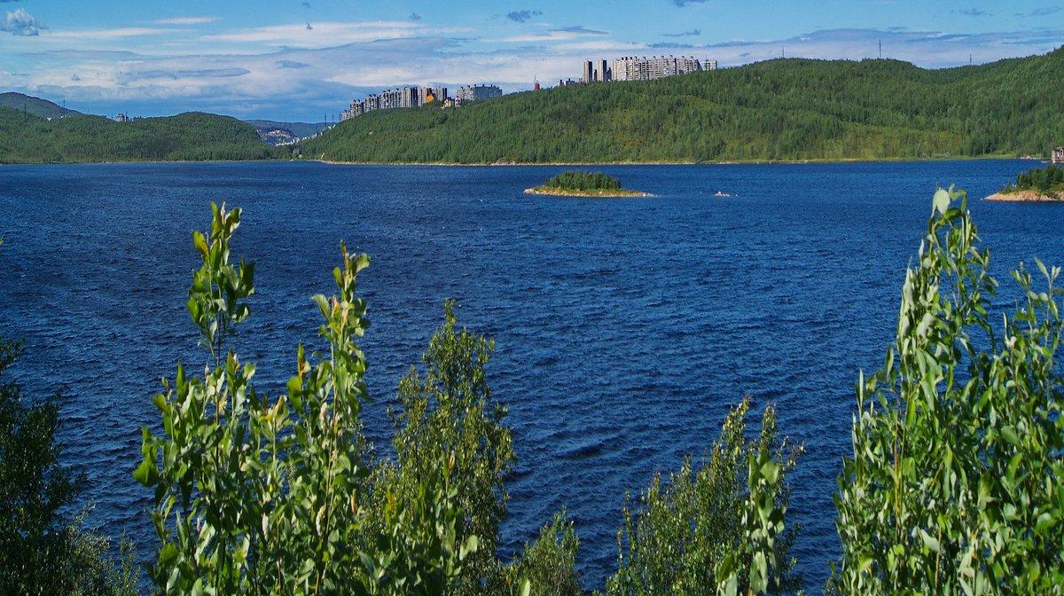 Мурманск. Озеро Большое. - kolin marsh