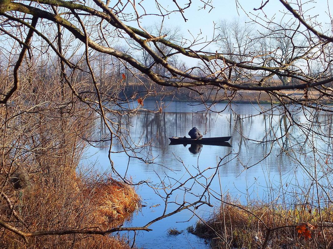 рыбалка в начале декабря - Александр Прокудин