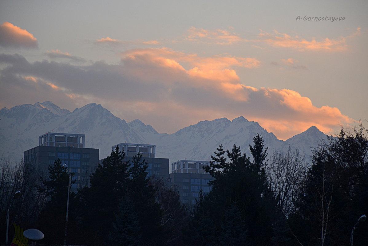 Зимой рано темнеет ... - Anna Gornostayeva