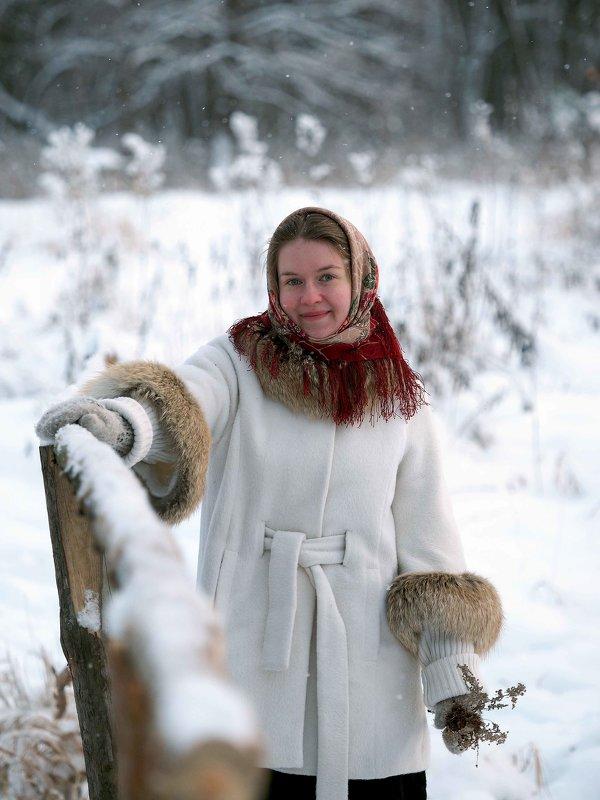 Зимний портрет - Валерий Гришин
