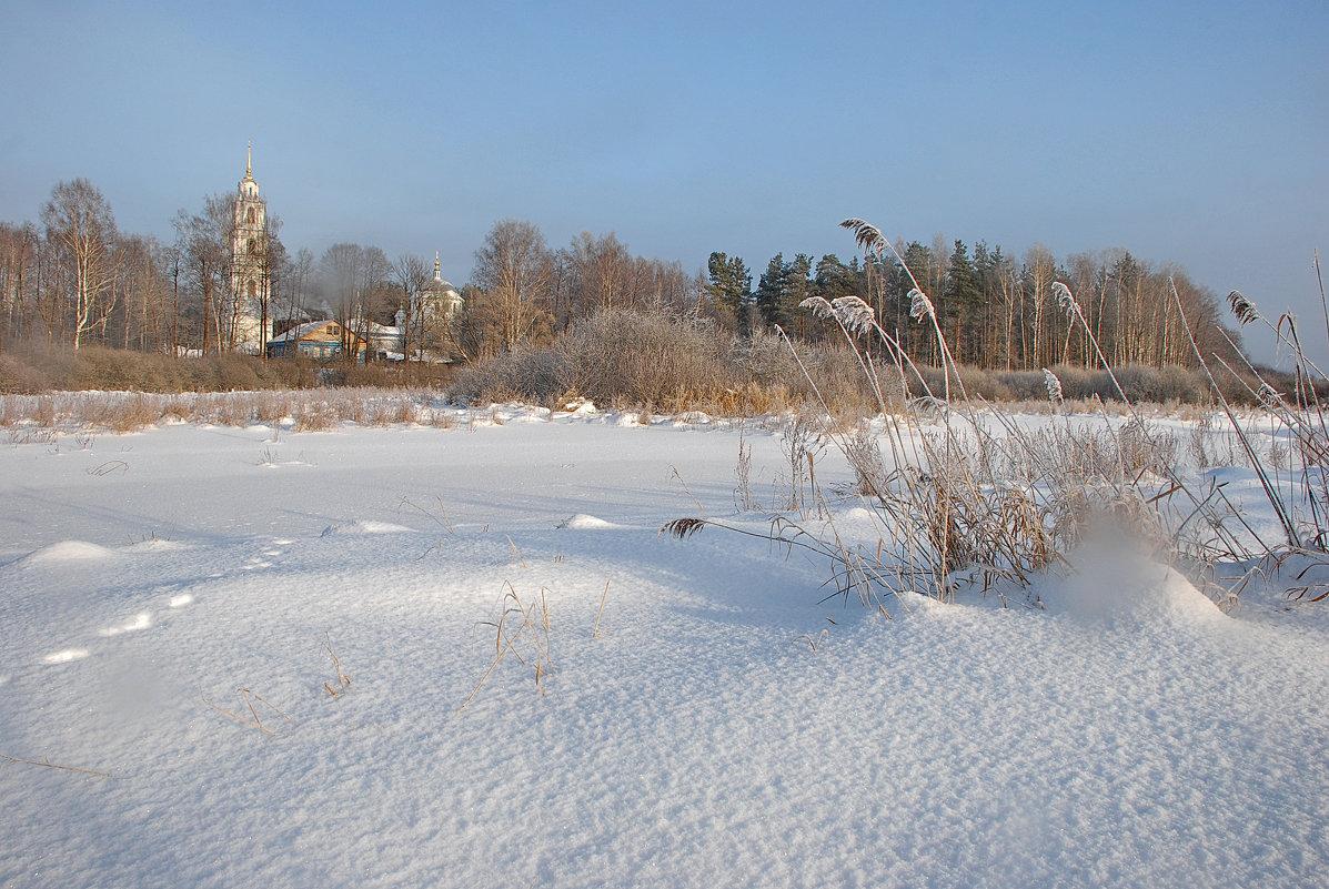Село Эрлекс, вид на храм - Валерий Толмачев