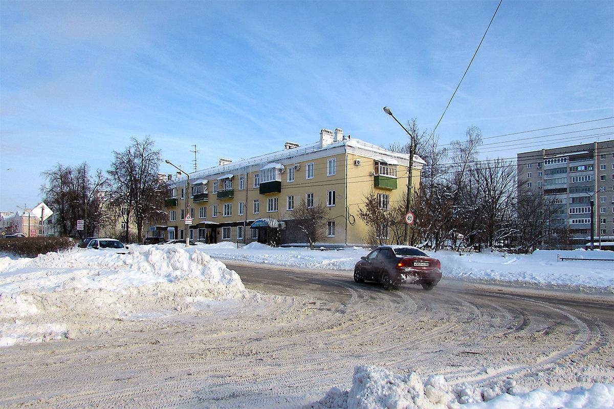 Ул. Яна Фабрициуса зимой - Canon PowerShot SX510 HS