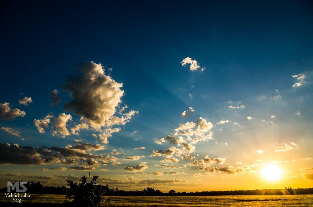 Облака - белогривые лошадки) - Сергей Мельниченко