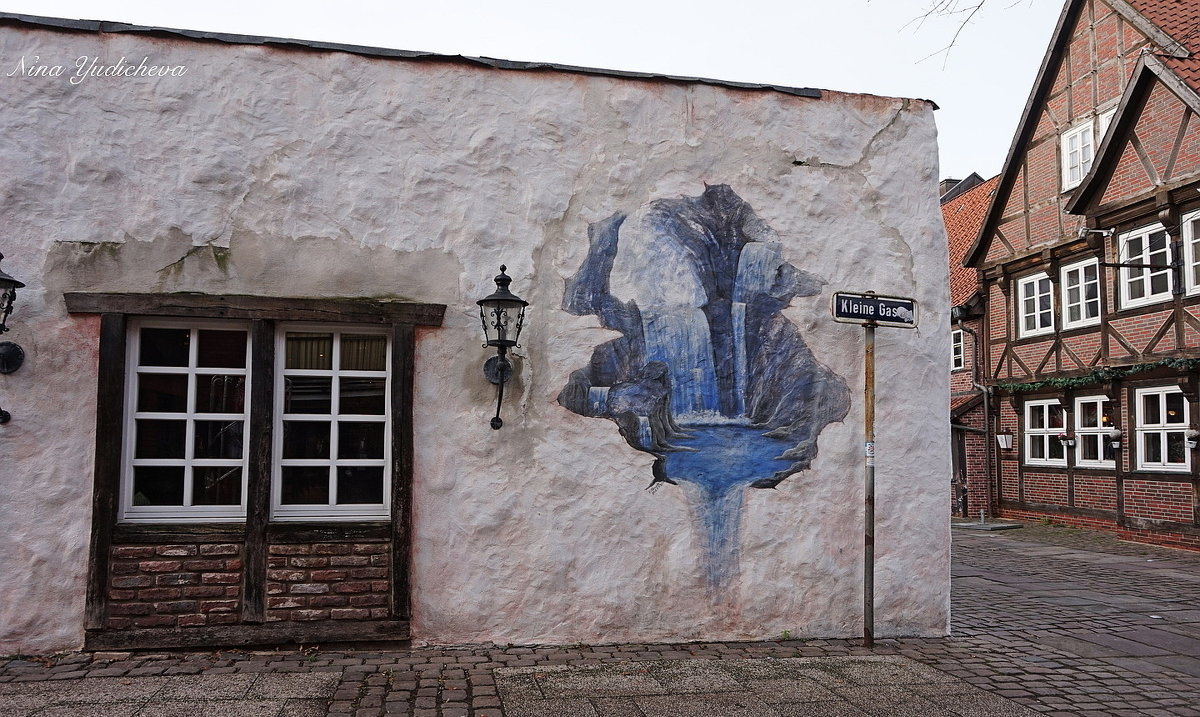 Hamburg. Lämmertwiete - Nina Yudicheva
