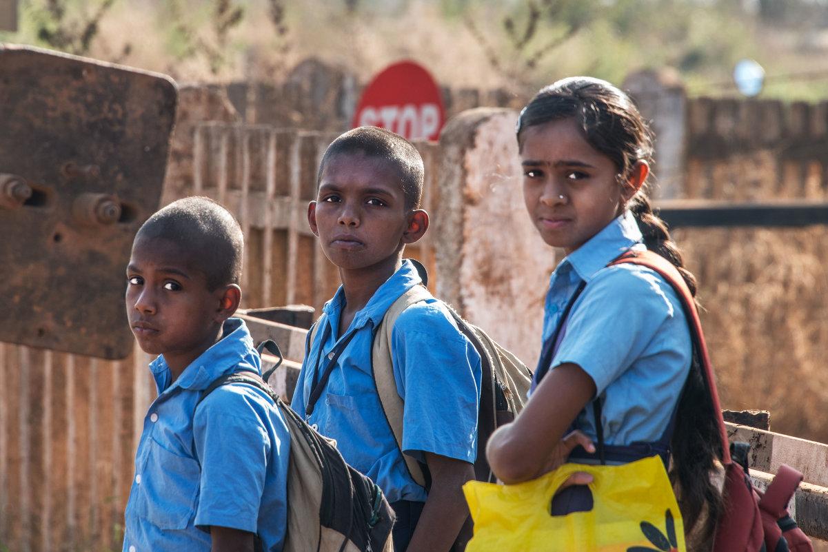Индийские дети - Виктор Куприянов