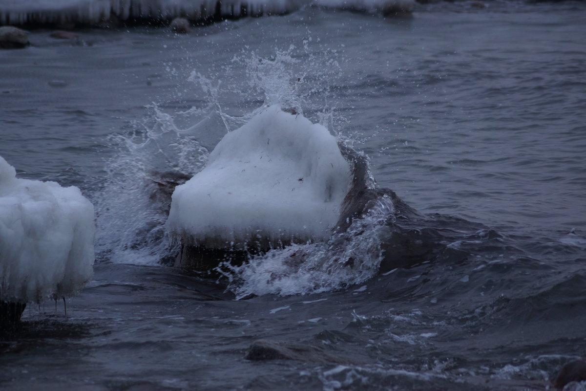 Зима на Балтийском море. - Максим Воробьев