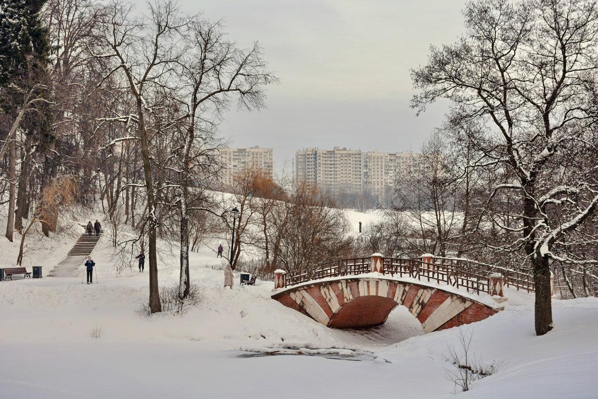 Зима в Царицыно - Леонид Иванчук