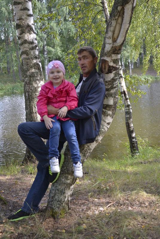 на природе - Ольга
