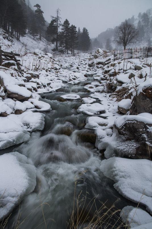 Горная река Адыр-су - Zifa Dimitrieva
