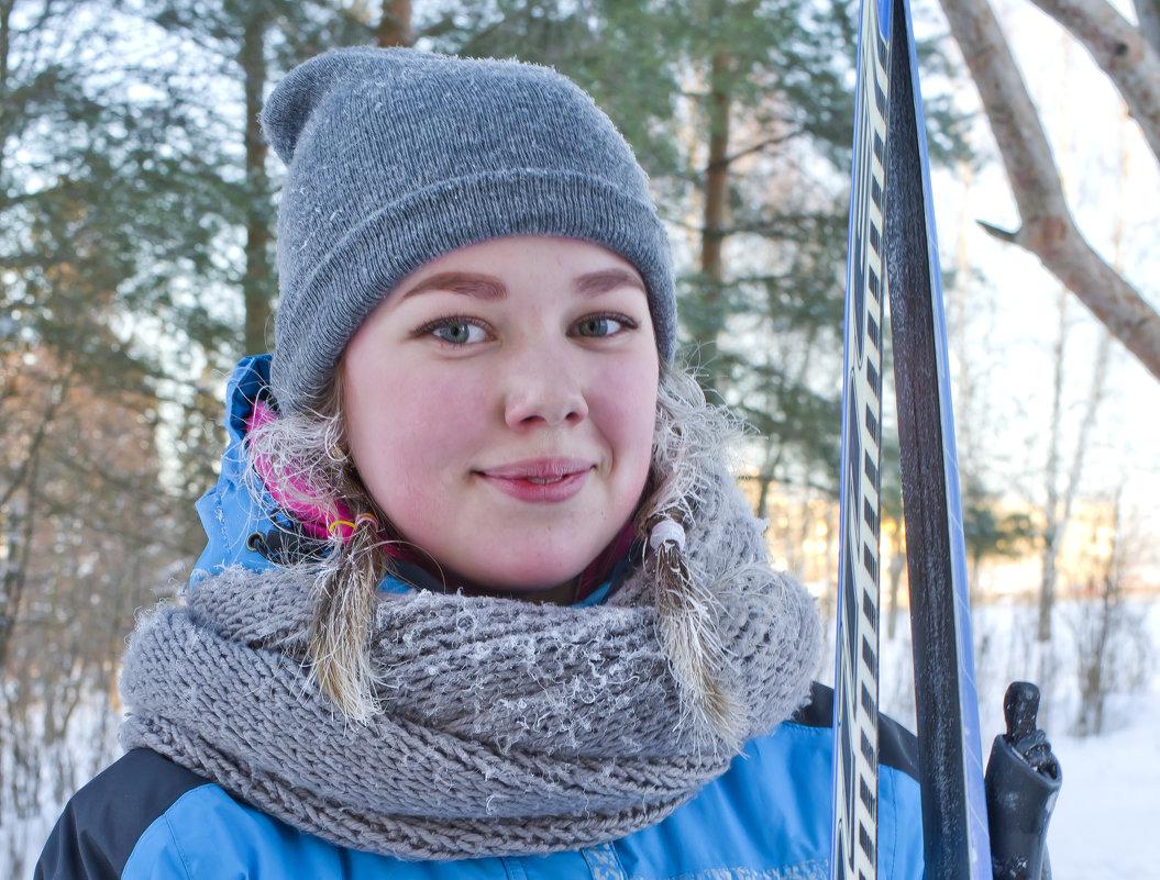 Школьники на лыжне 5 - Валерий Талашов