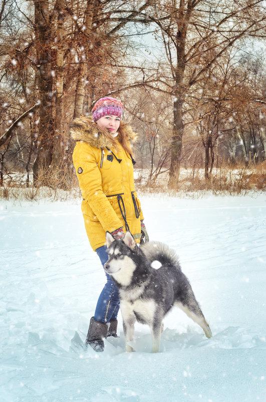 Зимняя прогулка - Ксения Довгопол