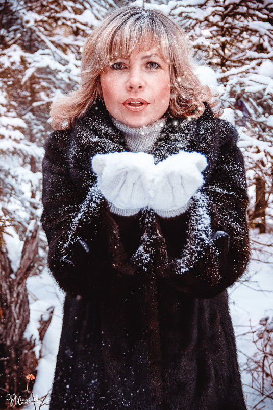 Однажды зимой... - Эржена Жамбалова