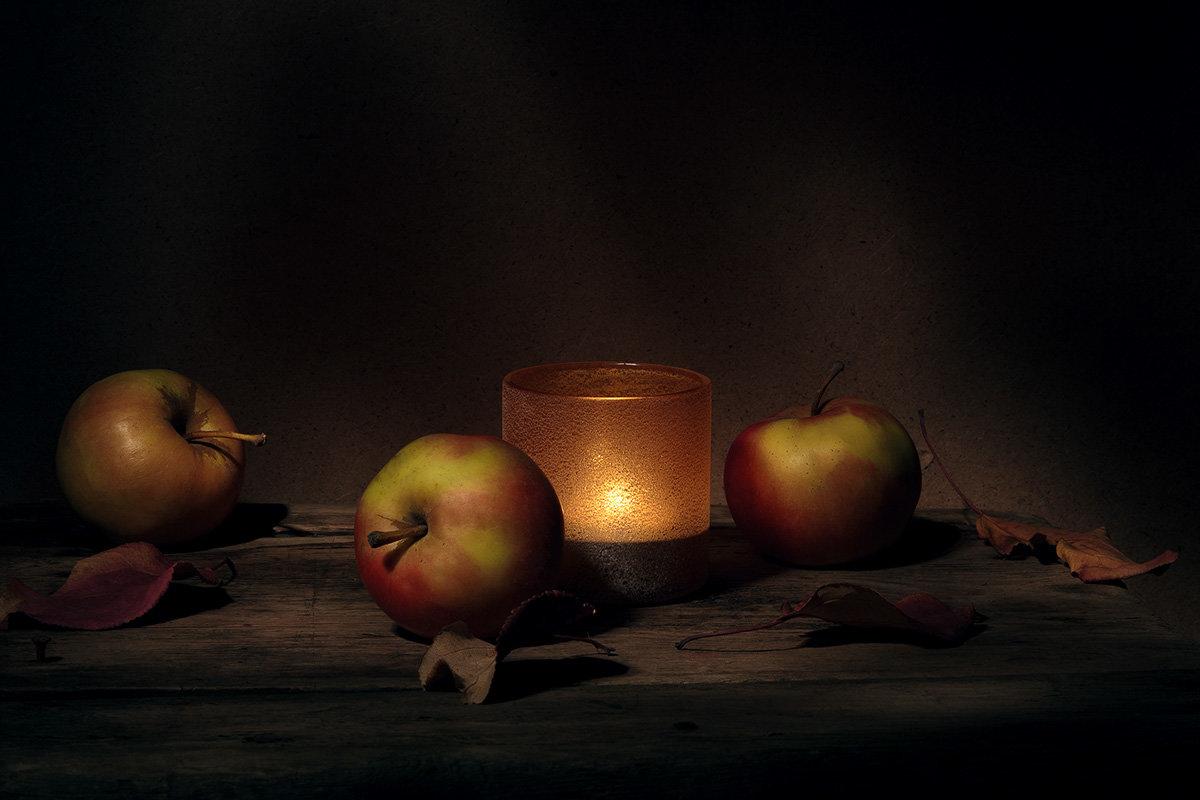 яблоки вечером - зоя полянская