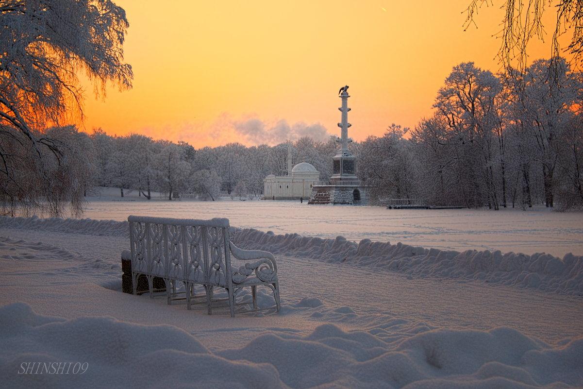 Екатерининский парк в Пушкине - Тамара Рубанова