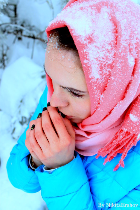 Аленушка в снегу - Ершов Ершов