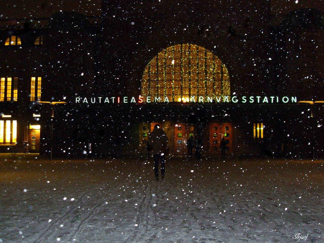 Жел. вокзал Хельсинки - Ирья Раски