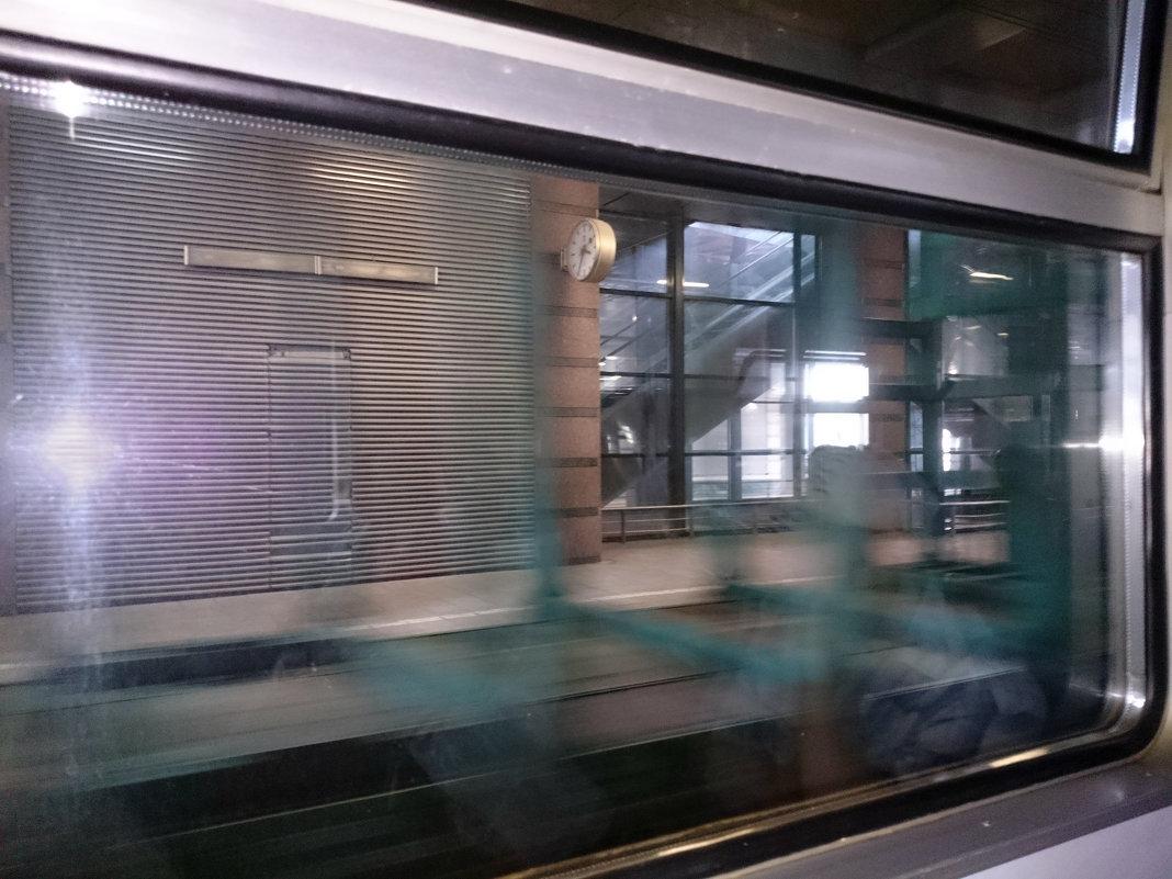 Платформа вокзала - Александр Рябчиков