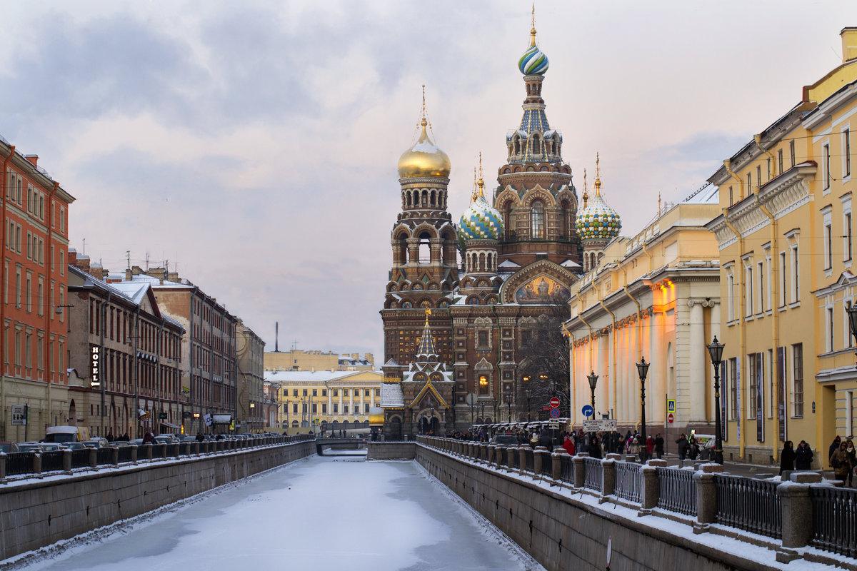 Храм Спа́са на Крови́ в Санкт-Петербурге - Римма Нефёдова