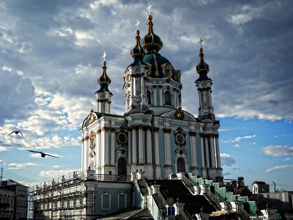 Андреевская церковь - Владимир Бровко