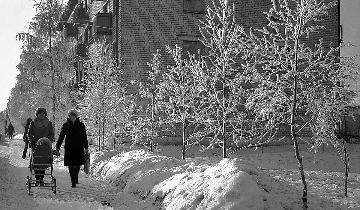 Холодный январь - Валентин Кузьмин