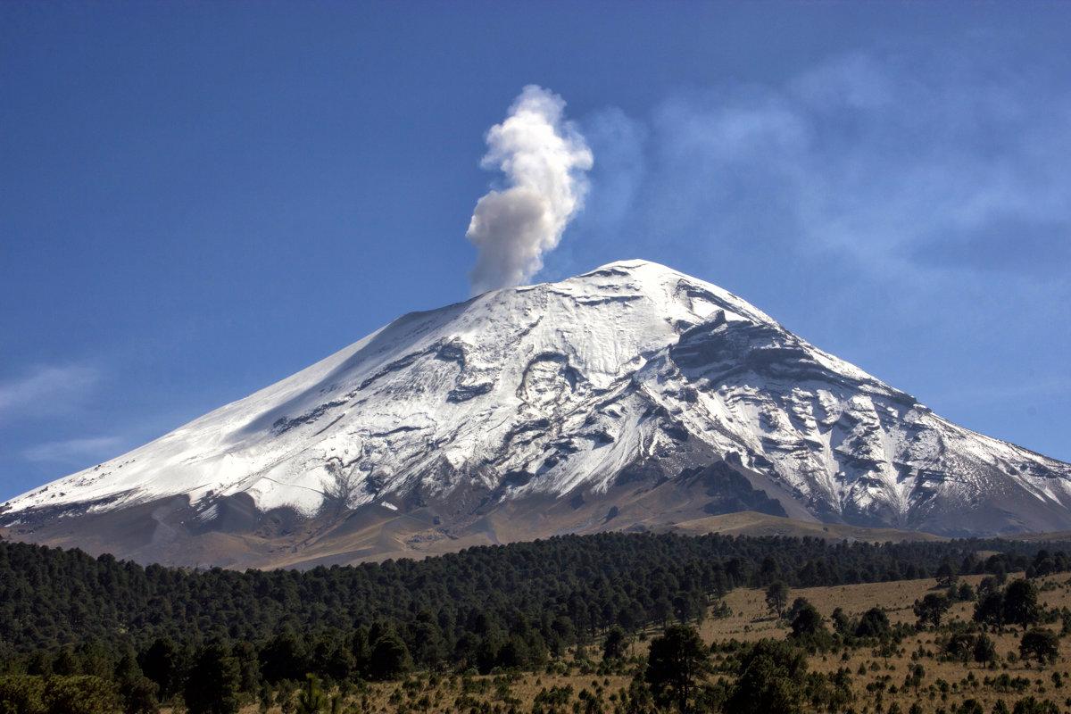 Вулкан Попокатепетль, Мексика - Elena Spezia