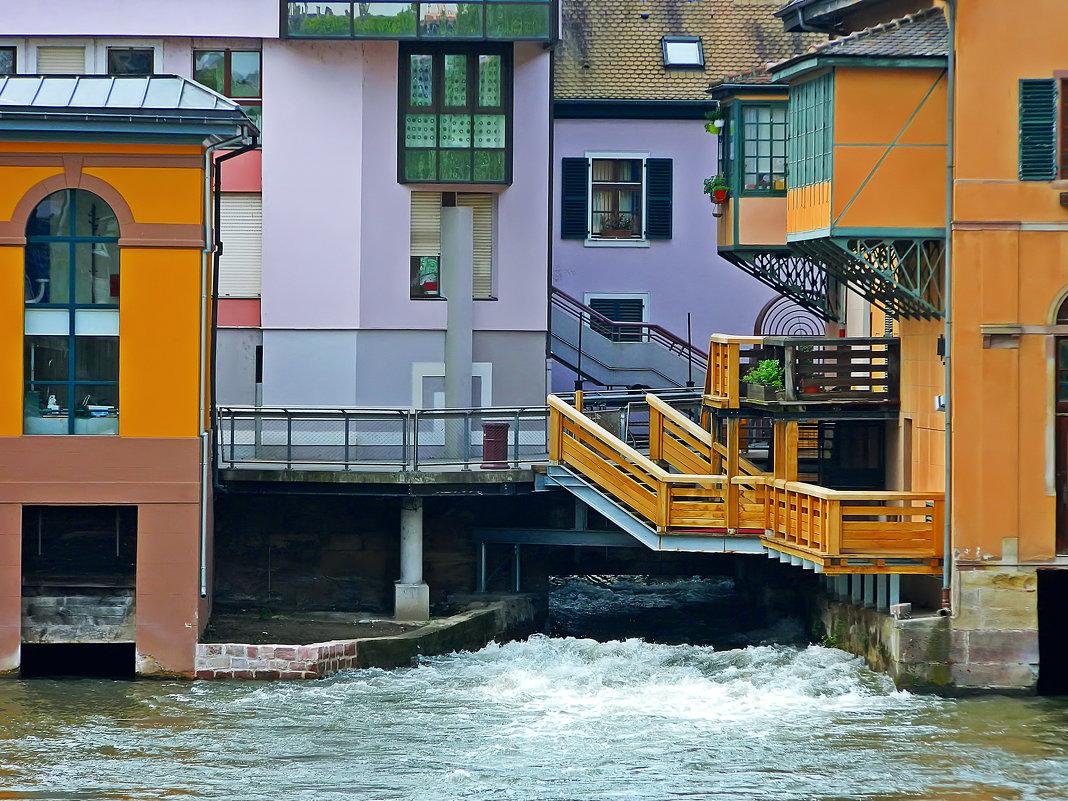 Страсбургские домики над плотиной - Александр Корчемный