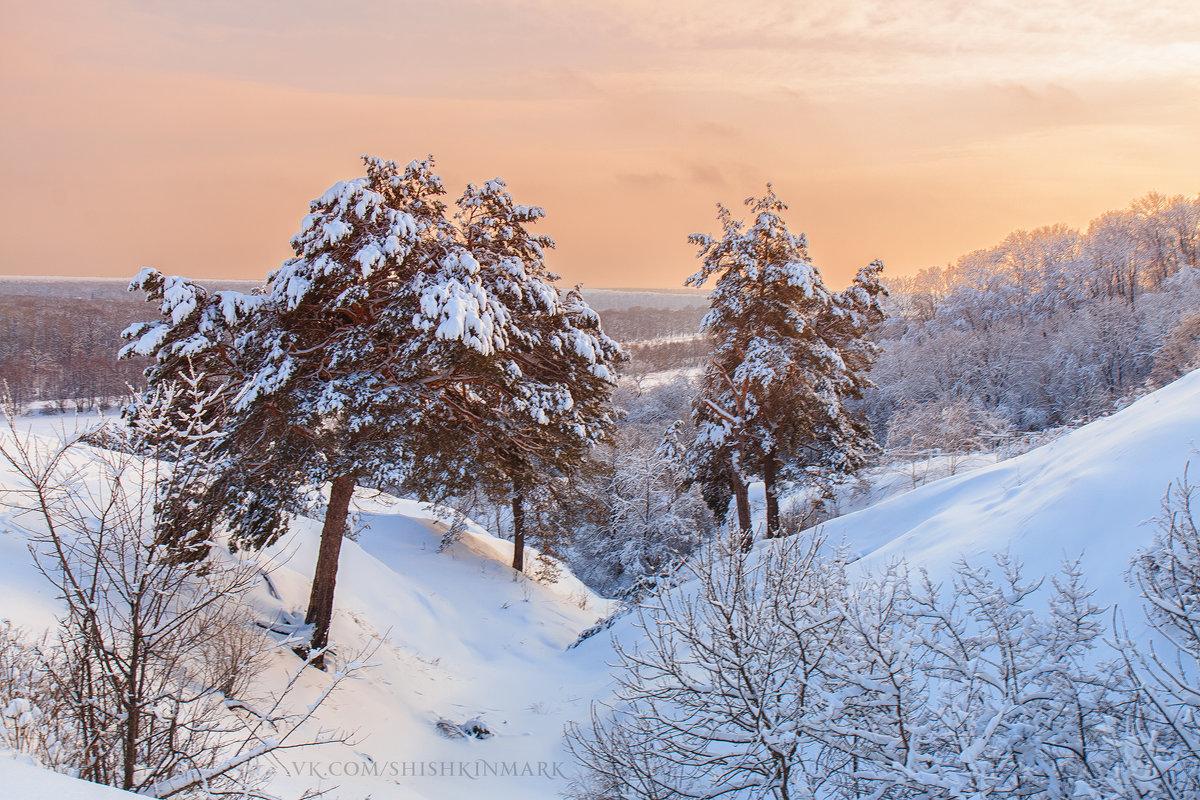 Зимний закат - Марк Шишкин