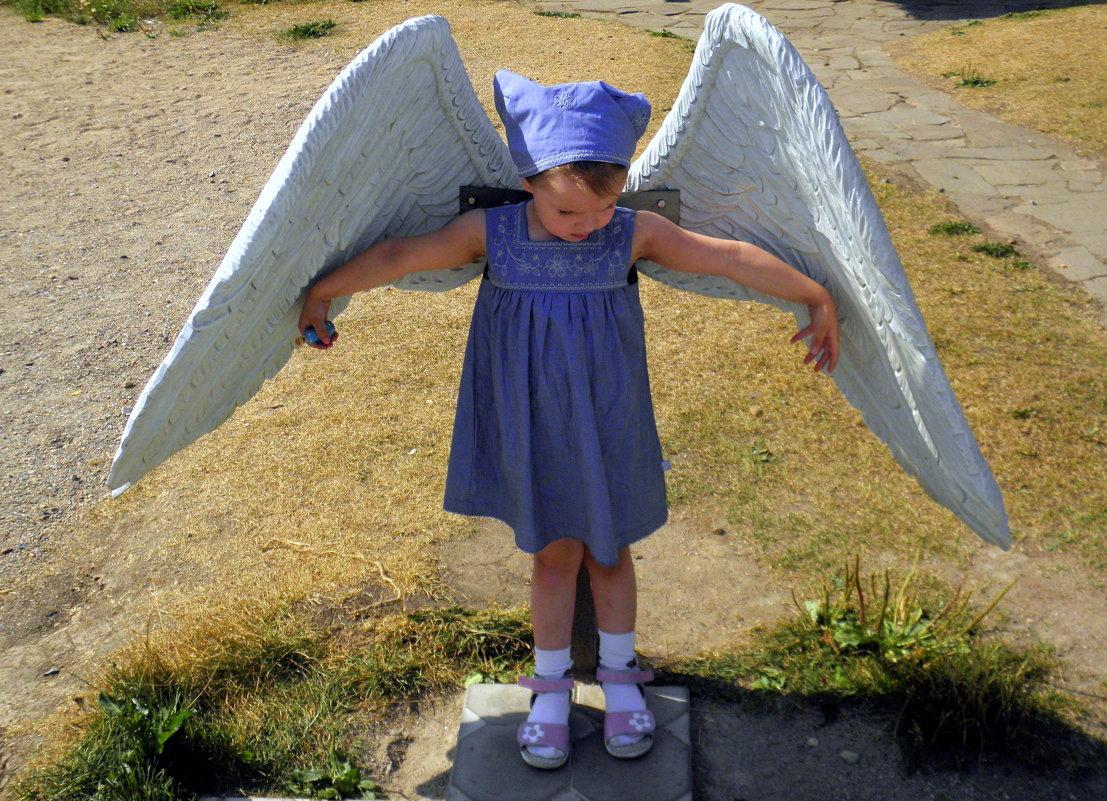 Примеряя ангельские крылья... - Елена